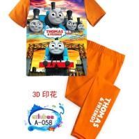 Baju Tidur Anak (Piyama Anak) Ailubee A-058 (Thomas) 8-12T