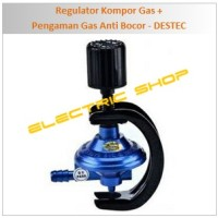 Jual Regulator Kompor Gas + Pengaman Gas Anti Bocor - DESTEC Murah