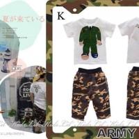 Boyset Army (putih)