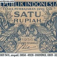 harga Barang Antik Uang Kuno Indonesia 1 Rupiah Tahun 1956 ( Gadis Jawa ) Tokopedia.com