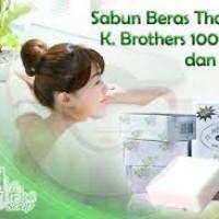 harga Saber/ Sabun Beras Susu Thailand 100% Original K-Brothers Grosir Murah Tokopedia.com