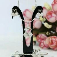 Swan Love Jewellery Set - Perhiasan