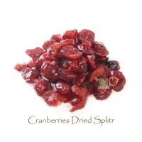 Cranberries Dried Split 900 gram