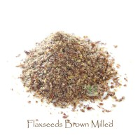Brown Flaxseeds Milled 900 gr