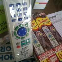 Remote Tv Joker Universal (Untuk Semua Merk TV) Type TV-136 + Extra