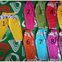 Celana Anak Cewe Katun 2-3th