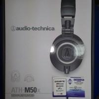 harga AUDIO TECHNICA - ATH-M50X - Professional Studio Monitor Headphones Tokopedia.com