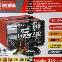 Trafo Charger Battery ACCU Telwin Leader 220 Start Made in Italy