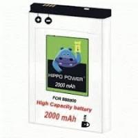 Baterai Hippo Double Power Blackberry CX2 2000mAh For BB 8800 / Huron