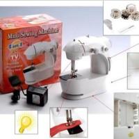 Jual Mesin Jahit Mini Portable 4in1 (Ada Lampunya) Murah