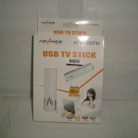 USB TV Tuner Stick/Converter AV To USB Untuk Laptop Advance ATV-690FM