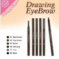 Jual DRAWING EYEBROW ETUDE House Eye Brow AD + Brush (Pensil + Sikat/Kuas) Murah