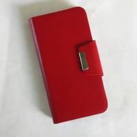 Leathercase Leather Case Asus Zenfone 2 Ze551ml Bahan Kulit Merah