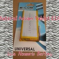 harga Promo !!! Baterai Tablet Advan Type E1a 5000 Mah Dp Merk M Com Tokopedia.com