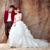 harga Wedding Dress - Gaun Pengantin Ekor Panjang Bordir Perut Korea 2015 Tokopedia.com