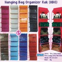 Hanging Bag Organizer HBO / rak tas organiser