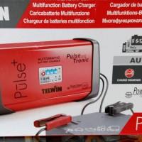 Trafo Battery Charger ACCU multifungsi auto Telwin Pulse 50 Italy