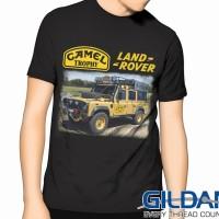 """Kaos LANDROVER 4x4 """"Camel Trophy2"""" GILDAN Tshirt"""