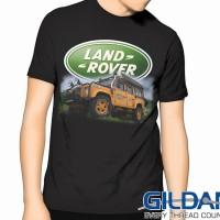 """Kaos LANDROVER 4x4 """"Camel Trophy3"""" GILDAN Tshirt"""
