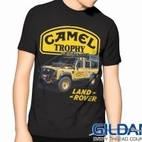 """Kaos LANDROVER 4x4 """"Camel Trophy"""" GILDAN Tshirt"""