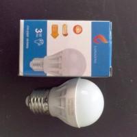 LAMPU BOHLAM LED 3W MERK LANGGENG CAHAYA WARMWHITE (KEKUNINGAN)