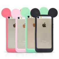 harga Iphone 5/5s Rubber Back Case Mickey Mouse  (green) Tokopedia.com