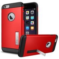 Hardcase iphone 4 / 4s / 5 / 5s spigen tough armor stand cover case