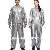 baju olahraga sauna slimming suit senam treadmill jogging pria wanita