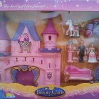 Mainan istana boneka cantik - Beauty castle play set (2939)