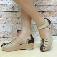 harga Sandal Sepatu Wedges Wanita Cantik M2m J20 Tokopedia.com