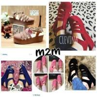 harga Sandal Sepatu Wedges Wanita Cantik M2m Murah Tokopedia.com