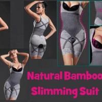 Jual murah natural bamboo slimming suit pelangsing tubuh obat murah Murah