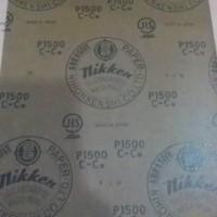 harga Amplas Nikken grit 1500 / p 1500 asli (lembar) Tokopedia.com