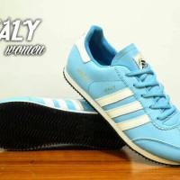 ... harga sepatu adidas italy women blue tosca white Tokopedia.com 952042714d