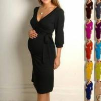 harga dress hamil menyusui - bhm 19 Tokopedia.com