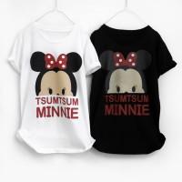 kaos tshirt tsum tsum minnie mouse
