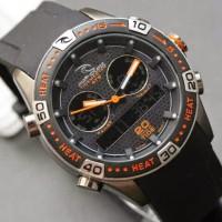 harga jam tangan Ripcurl Orbit Rubber Hitam list Orens Kw Super Tokopedia.com