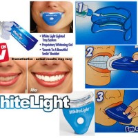 WHITE LIGHT/WHITELIGHT PEMUTIH GIGI - Original 100%