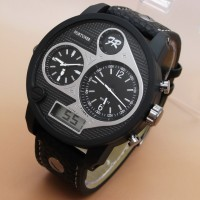 Fortuner AD-1517 Triple Time (Black Leather List White)