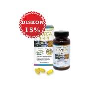 harga Nature's Health Omega 3-6-9 | Kolesterol, Jantung, Darah Tinggi Tokopedia.com