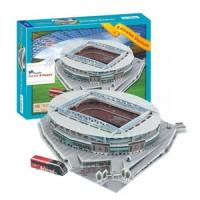 Jual 3D Puzzle Stadium Emirates - Arsenal Murah