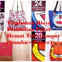 NEW! TAMBAHAN BIAYA SUPER PROMO PAKET HEMAT TOTE CAMPUR MODEL