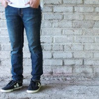 celana pria / Jeans Blue Washed