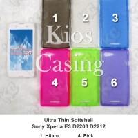 Sony Xperia E3 D2203 D2212 - Ultra Thin Softshell Case Sarung Cover