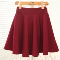 Jual Flare Skirt Rok A-line Celana Fashion Korea Baju Dress Blazer ( 3001 ) Murah
