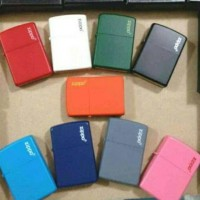 zippo grade ori matte . blue red whitr black grey orange pink green