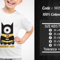 Kaos Anak Minion - Min-016