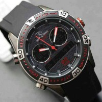 harga jam tangan RipCurl Orbit Rubber Hitam list Merah Kw Super Tokopedia.com