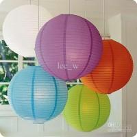 paper hanging lantern/ lampion gantung kertas 30cm