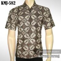 KEMEJA BATIK MODERN : Kawung Barong | KMJ-582